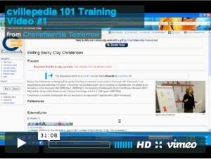 cvillepedia training video