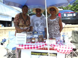 Vinnegar Hill Women's CanningCooperative at City Market