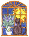 feline-sun-lover